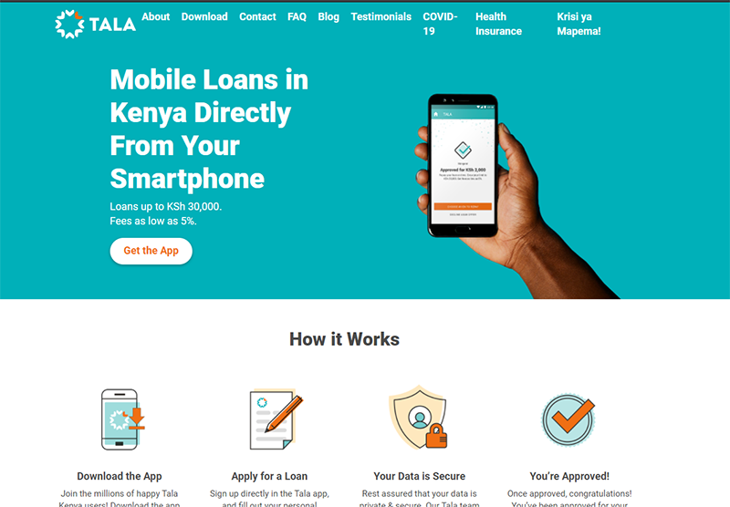Mkopo Rahisi, is a mobile-based loan service owned by InVenture Mobile Limited (Tala).